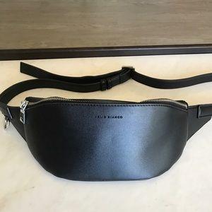 Melie Bianco Jenna vegan bone belt bag- Never worn